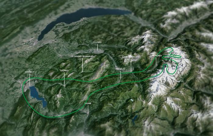 Mont-Blanc / Glaciers Circuit